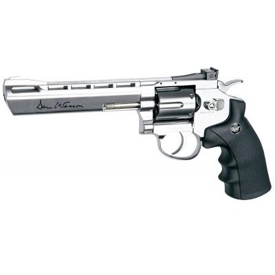 ΑΕΡΟΒΟΛΟ ASG Dan Wesson 6'' Revolver 4.5mm Silver/Pellets
