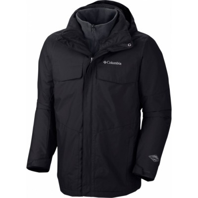 ΜΠΟΥΦΑΝ COLUMBIA BUGABOO™ FLEECE INTERCHANGE JACKET ΜΑΥΡΟ