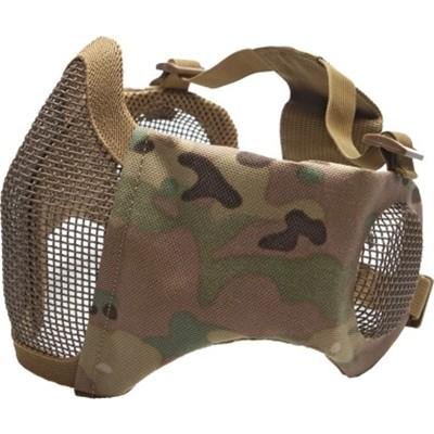 ΜΑΣΚΑ SOFT Mesh, Ear Protection, Metal, Lower Half, Multicam