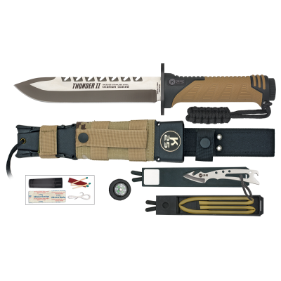 ΜΑΧΑΙΡΙ K25, Tactical Knife, THUNDER II, COYOTE, ENERGY, 32133