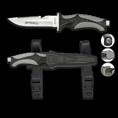 ΜΑΧΑΙΡΙ K25, Tactical Knife, SERIE ENERGY RUCKER With firestarter