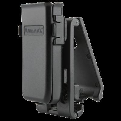 ΘΗΚΗ ΜΙΑΣ ΓΕΜΙΣΤΗΡΑΣ AMOMAX, Universal 9mm, .40, 45 Caliber - Black