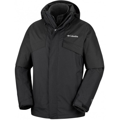 ΜΠΟΥΦΑΝ COLUMBIA BUGABOO™ II FLEECE INTERCHANGE JACKET (3XL) - ΜΑΥΡΟ