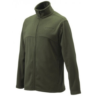 ΖΑΚΕΤΑ BERETTA FULL ZIP FLEECE - ΧΑΚΙ